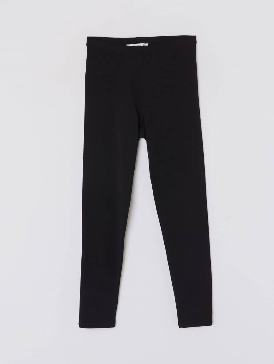 Lange Leggings, einfarbig