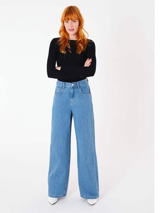 Jeans wide leg 829 d0f58acb0be