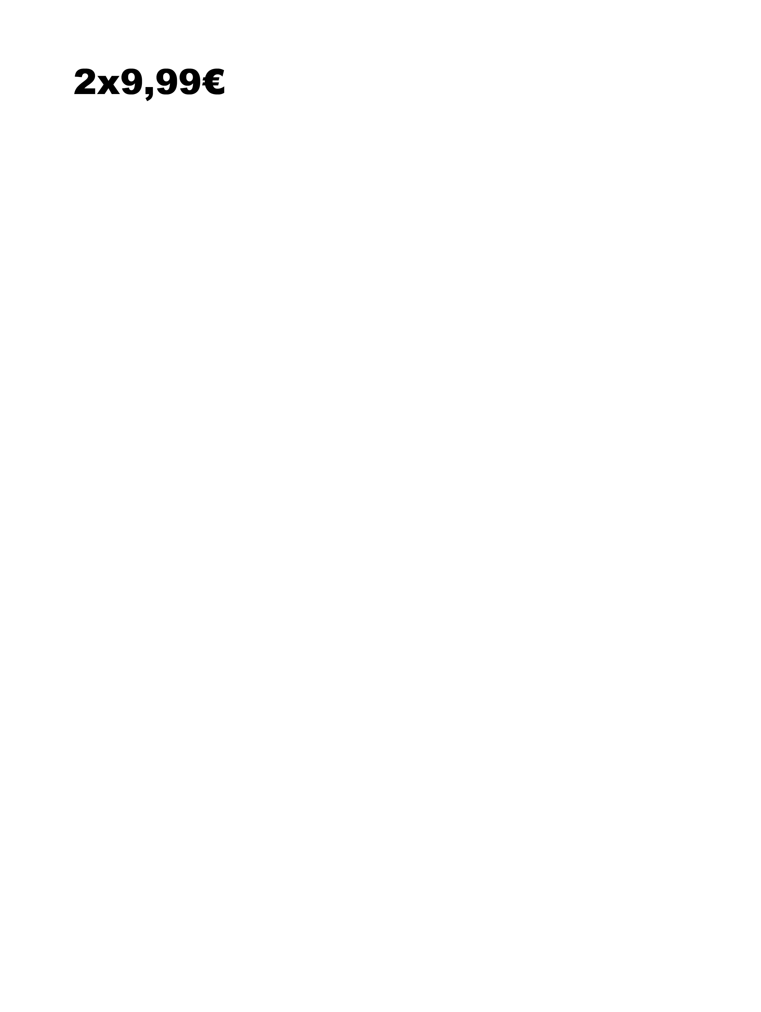 2X9.99 ITA