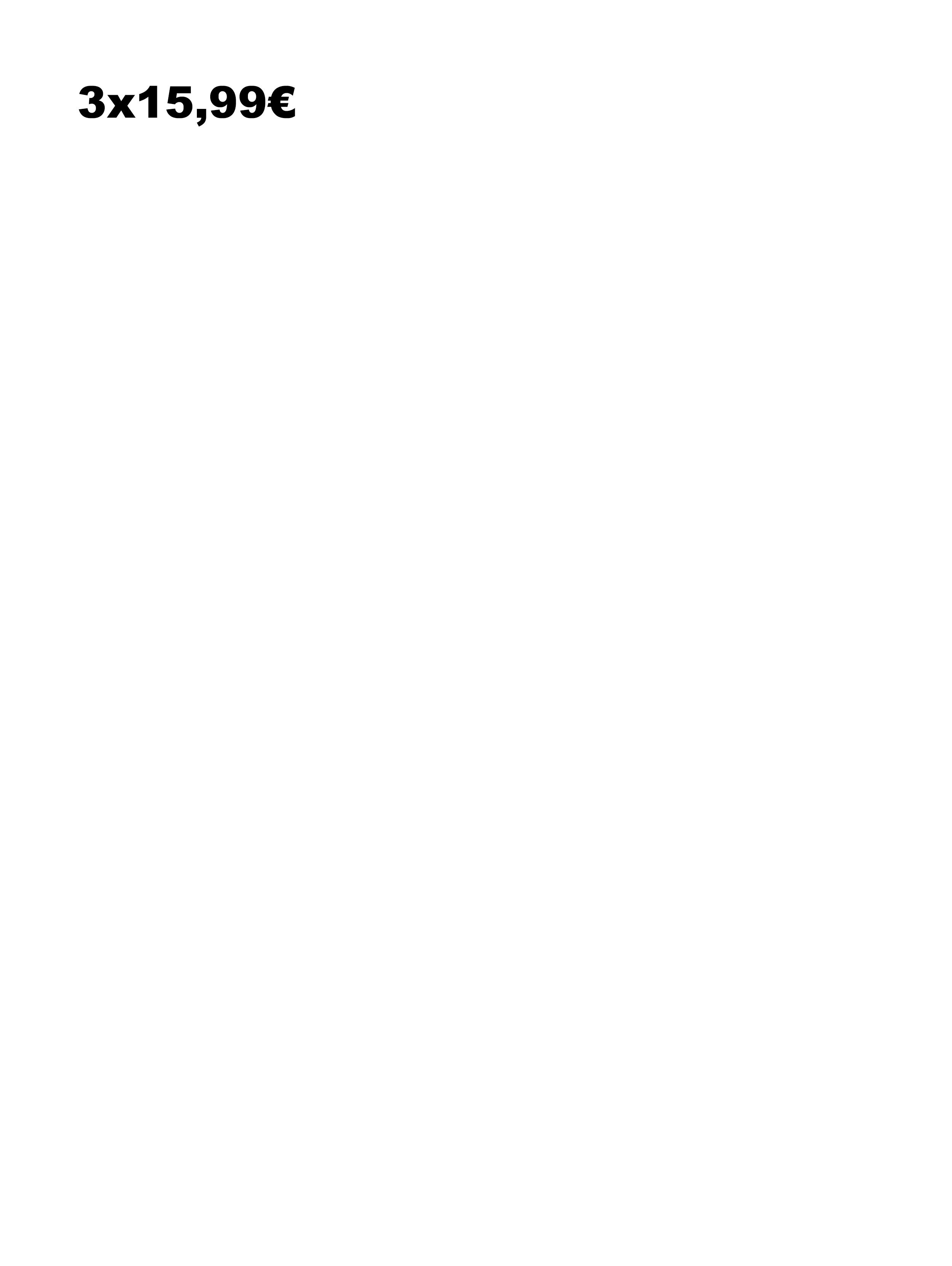 3x15.99 ITA