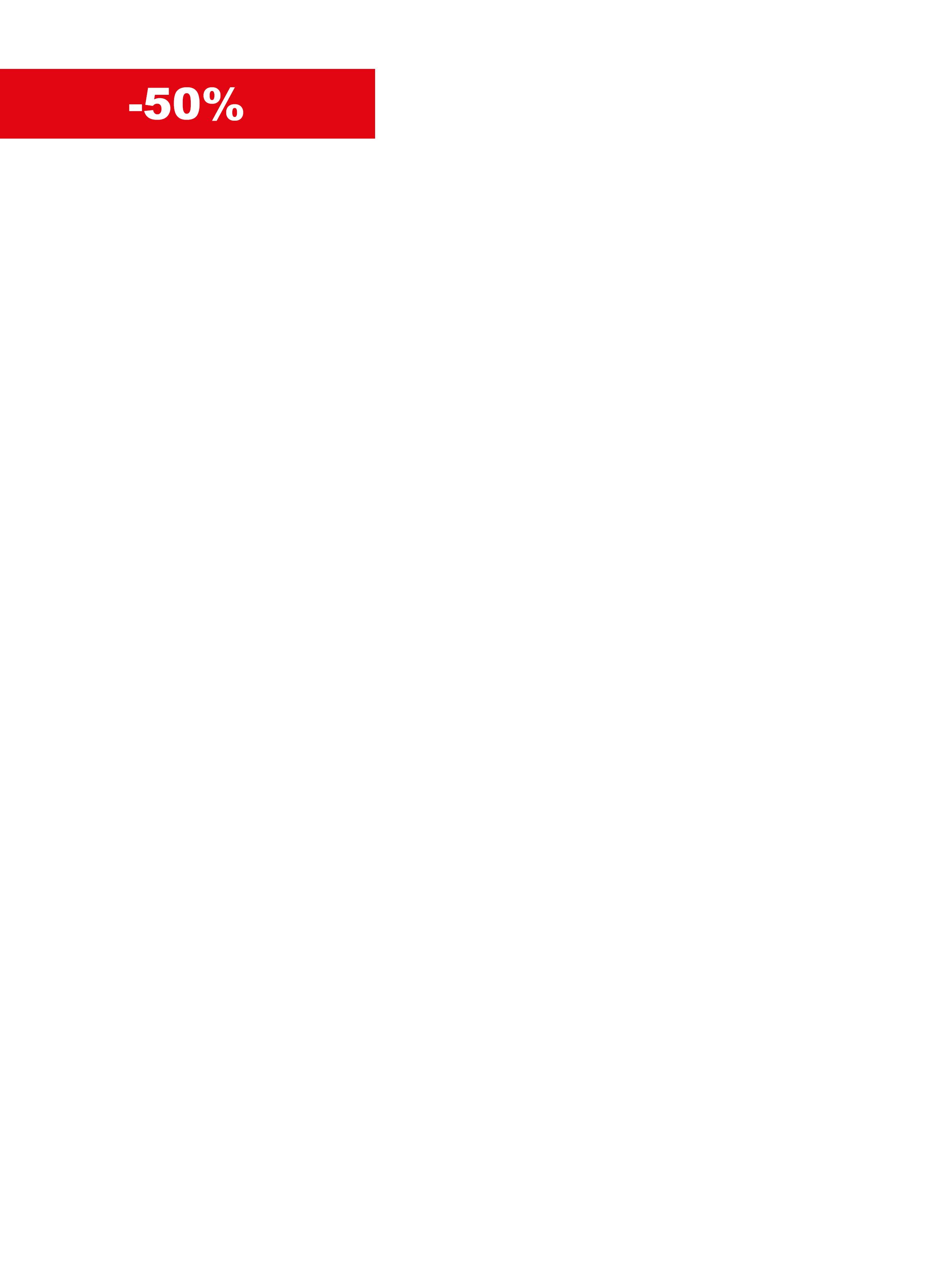 BOLLINO -50% ITA