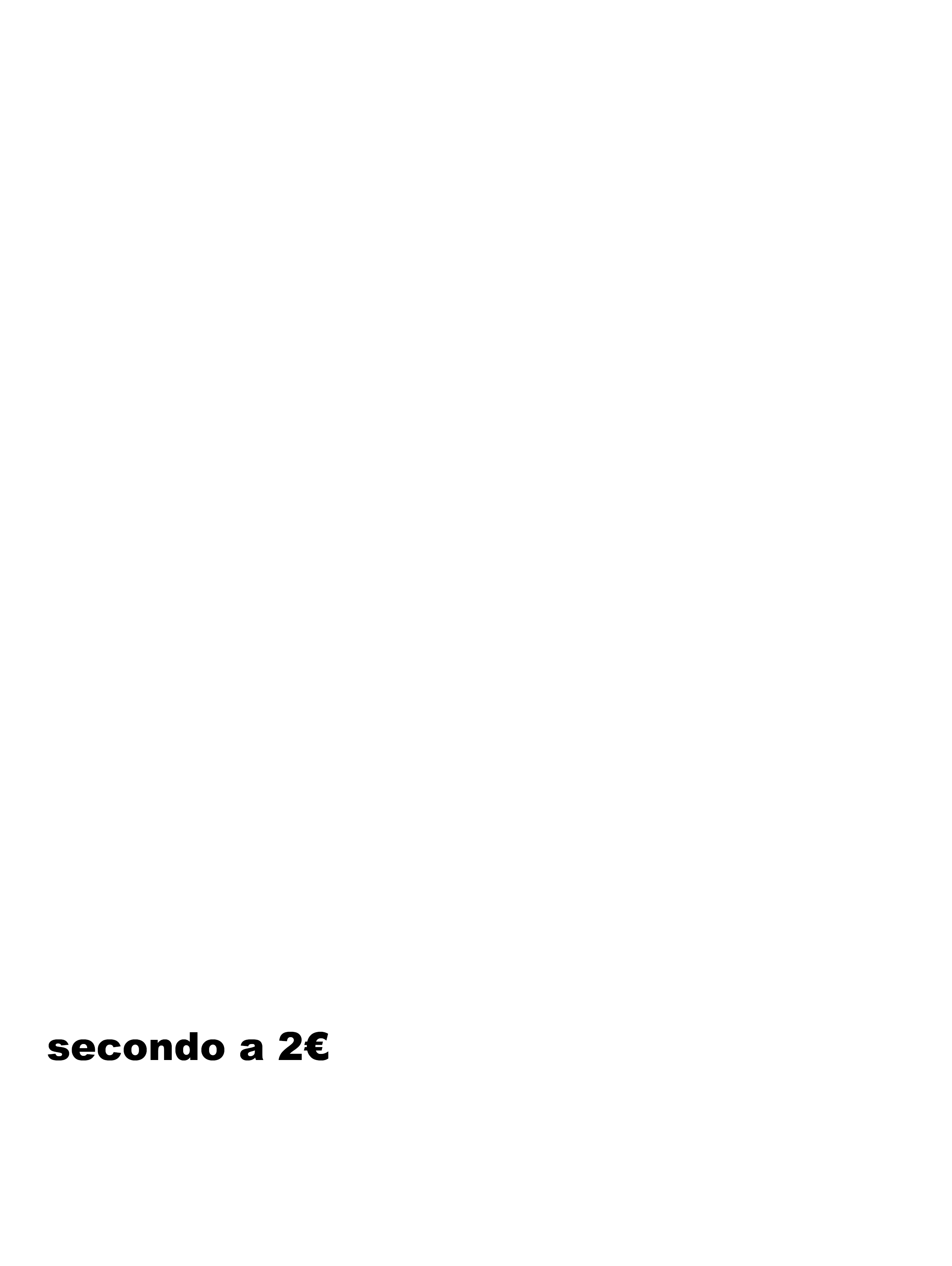 secondo a 2€