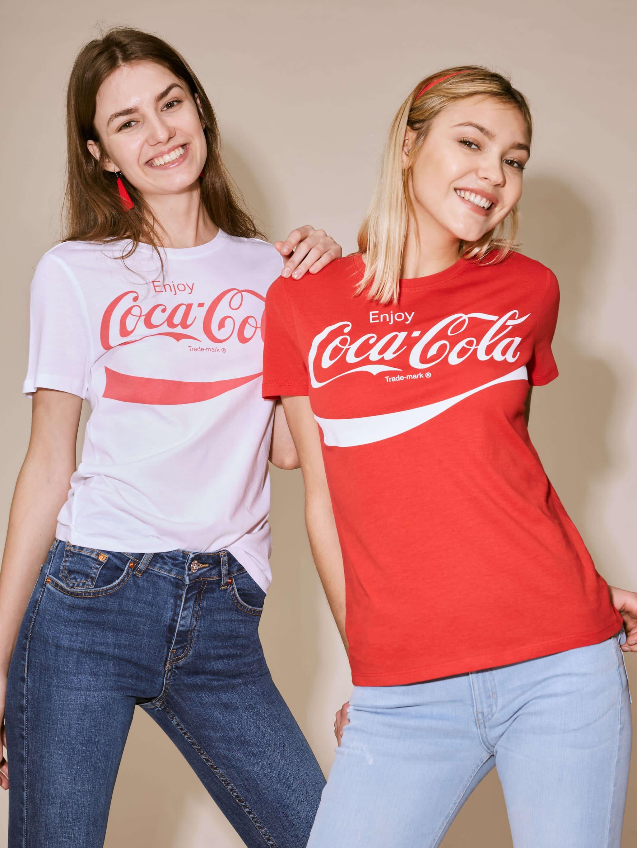 Red Coca Cola T Shirt Buy Online Terranova