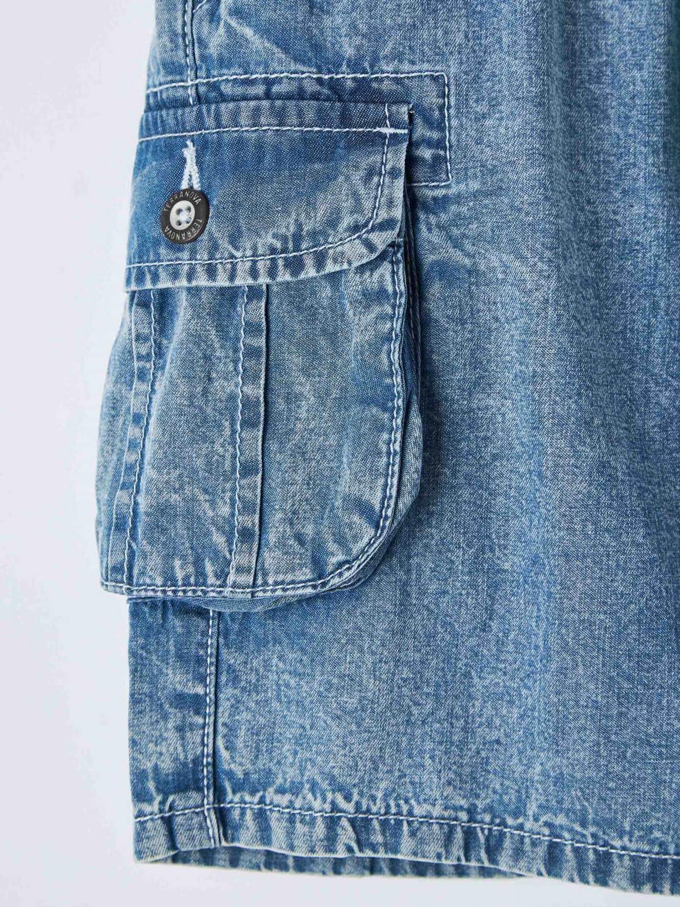 Pantalone Jeans Corto Junge Terranova