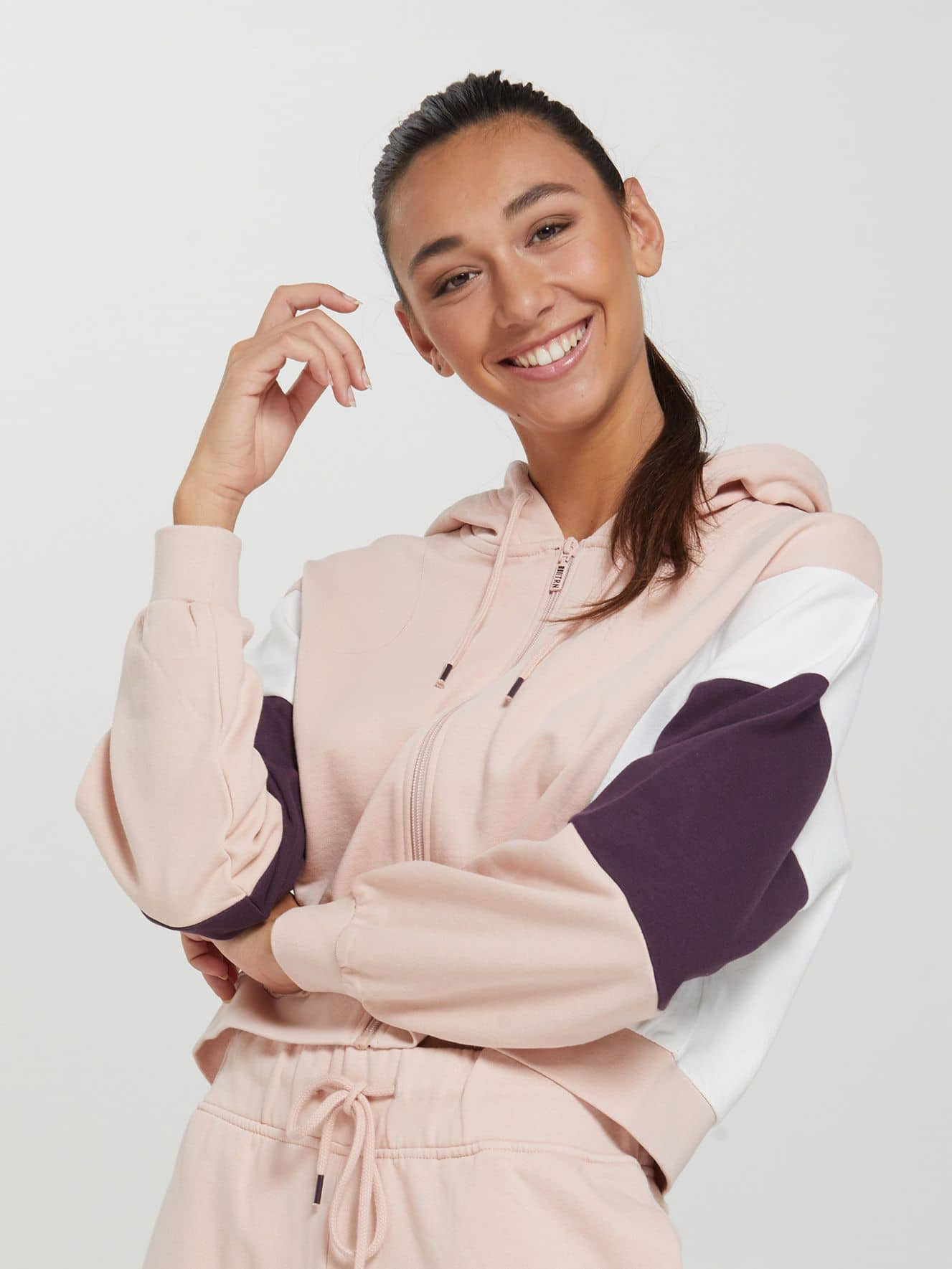 Active block colour sweatshirt
