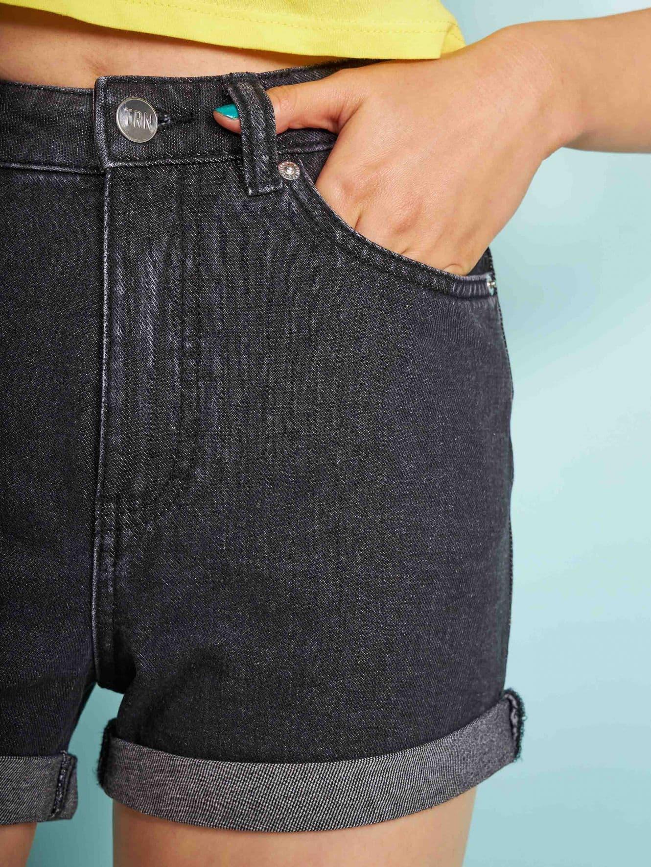 Short pants jeans Woman Terranova