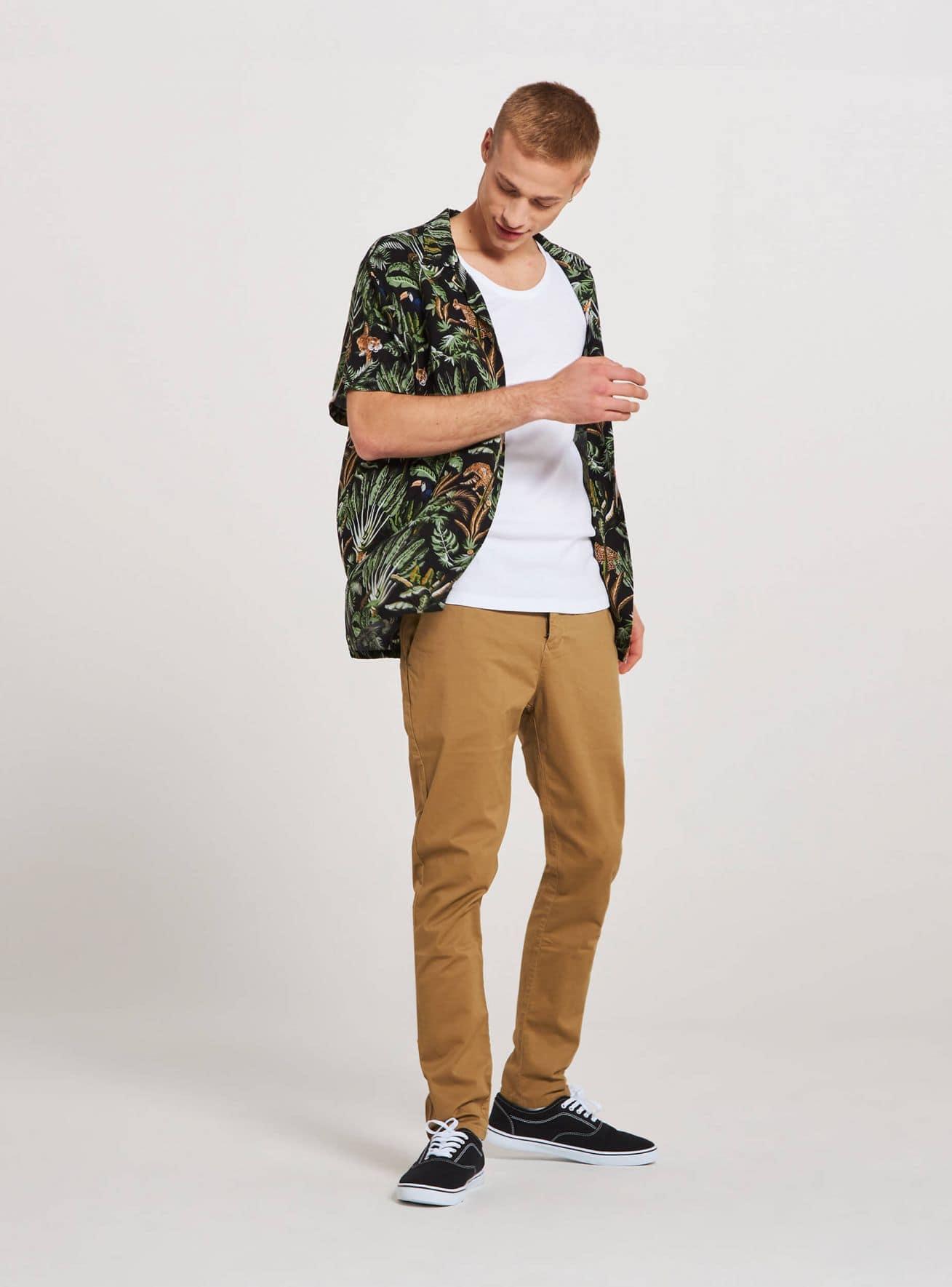 Camicia MC Herren Terranova