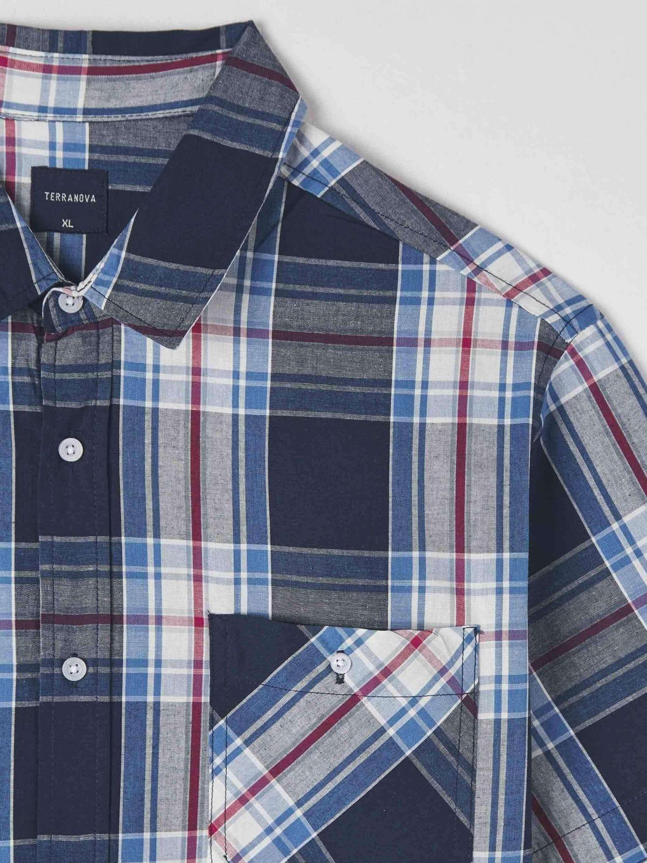 Short-sleeved shirt Man Terranova