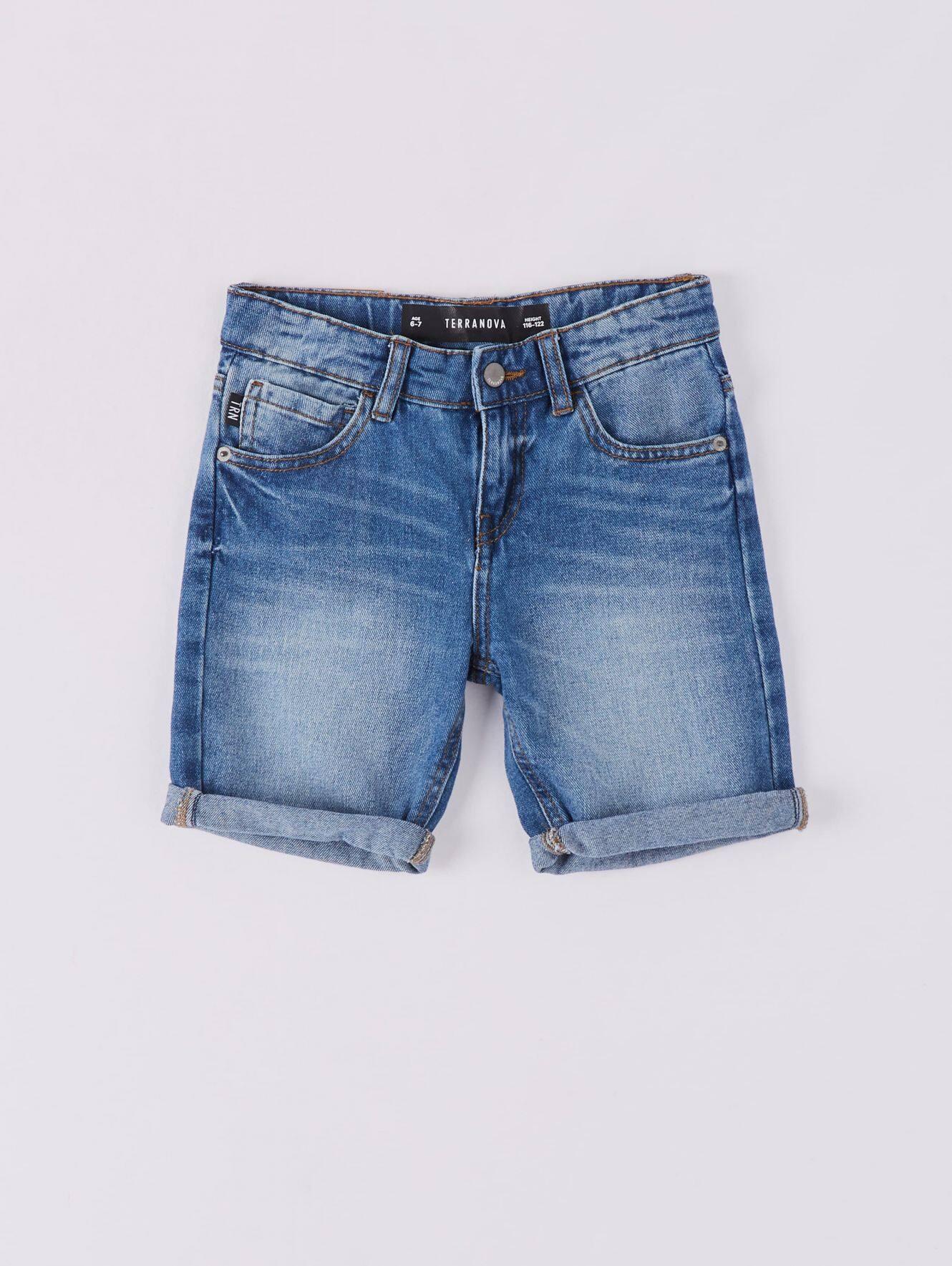 Pantalone Jeans Corto Bambino Terranova