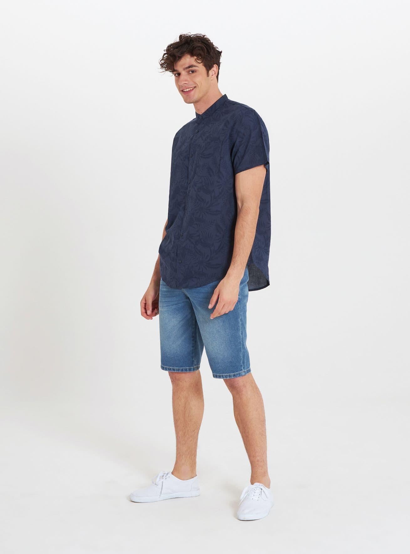 Camicia MC Uomo Terranova