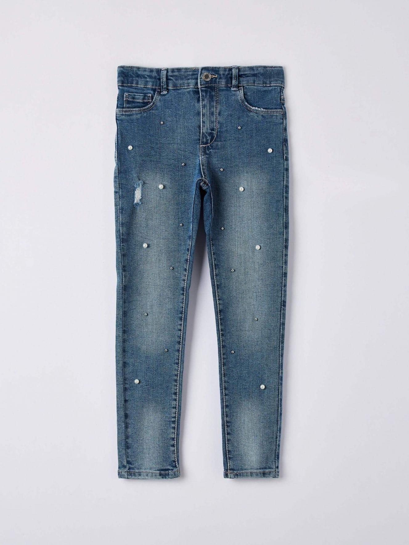 Pantalone Jeans Lungo nina Terranova