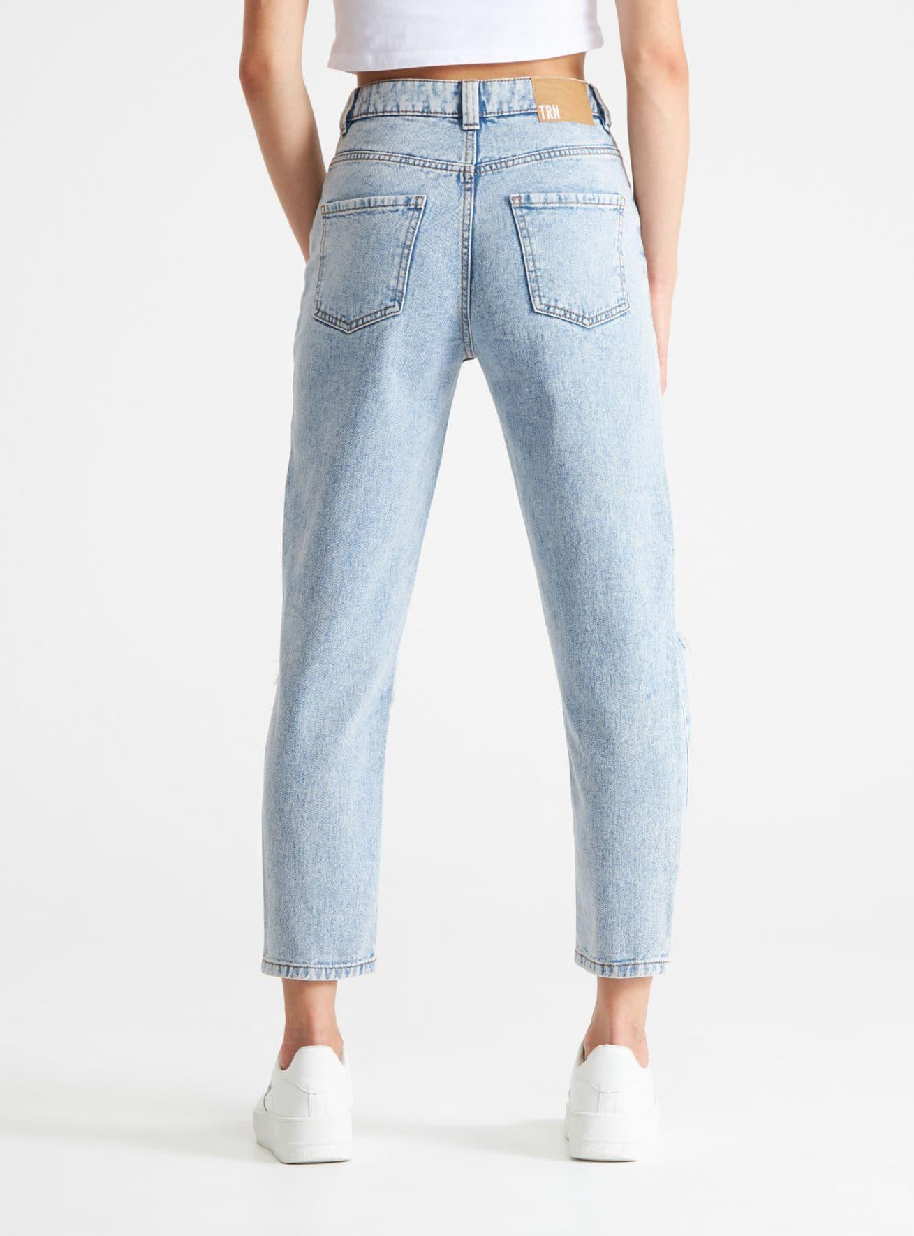Pantalone Jeans Lungo Mujer Terranova