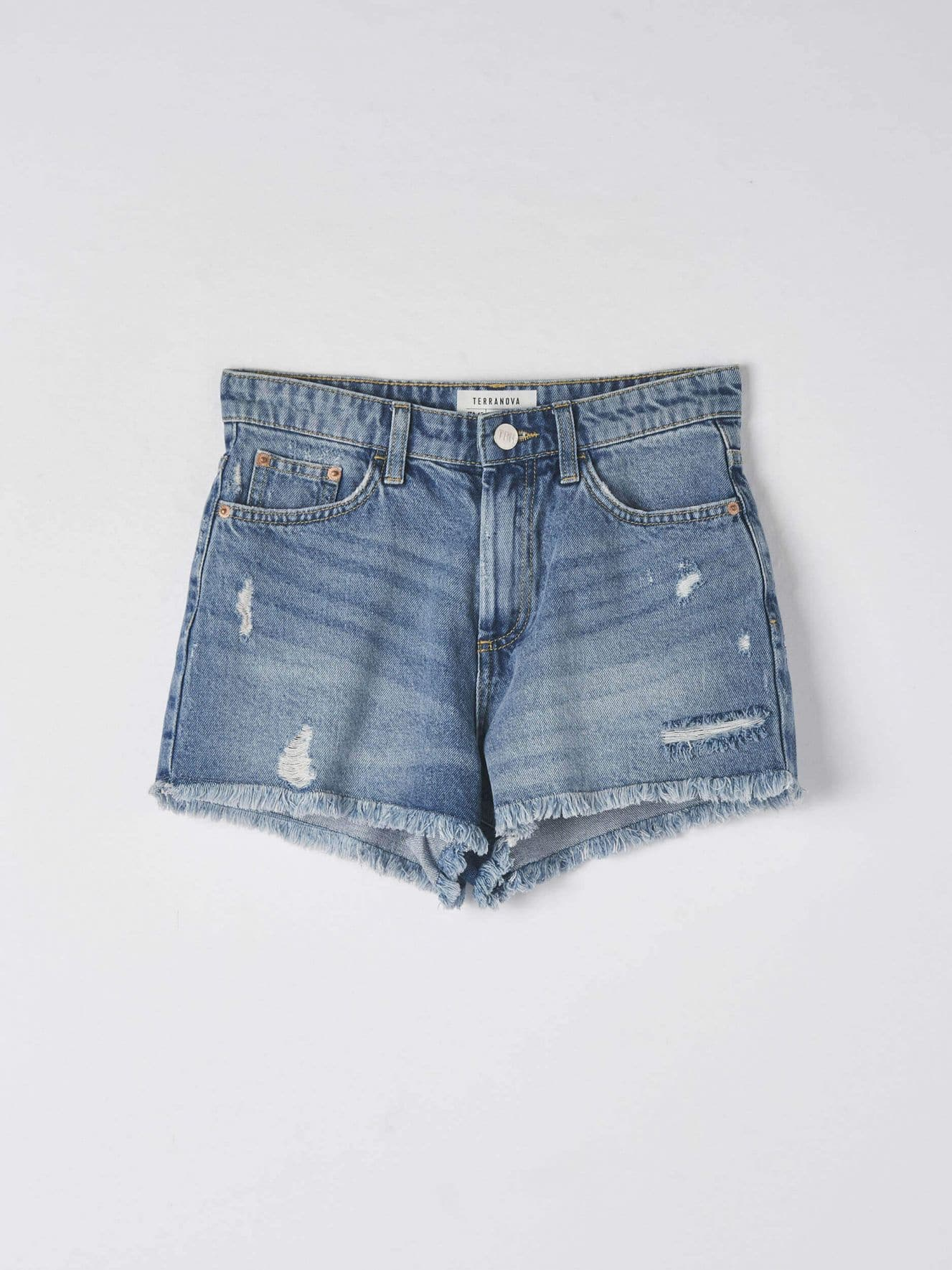 Short pants jeans Woman Terranova