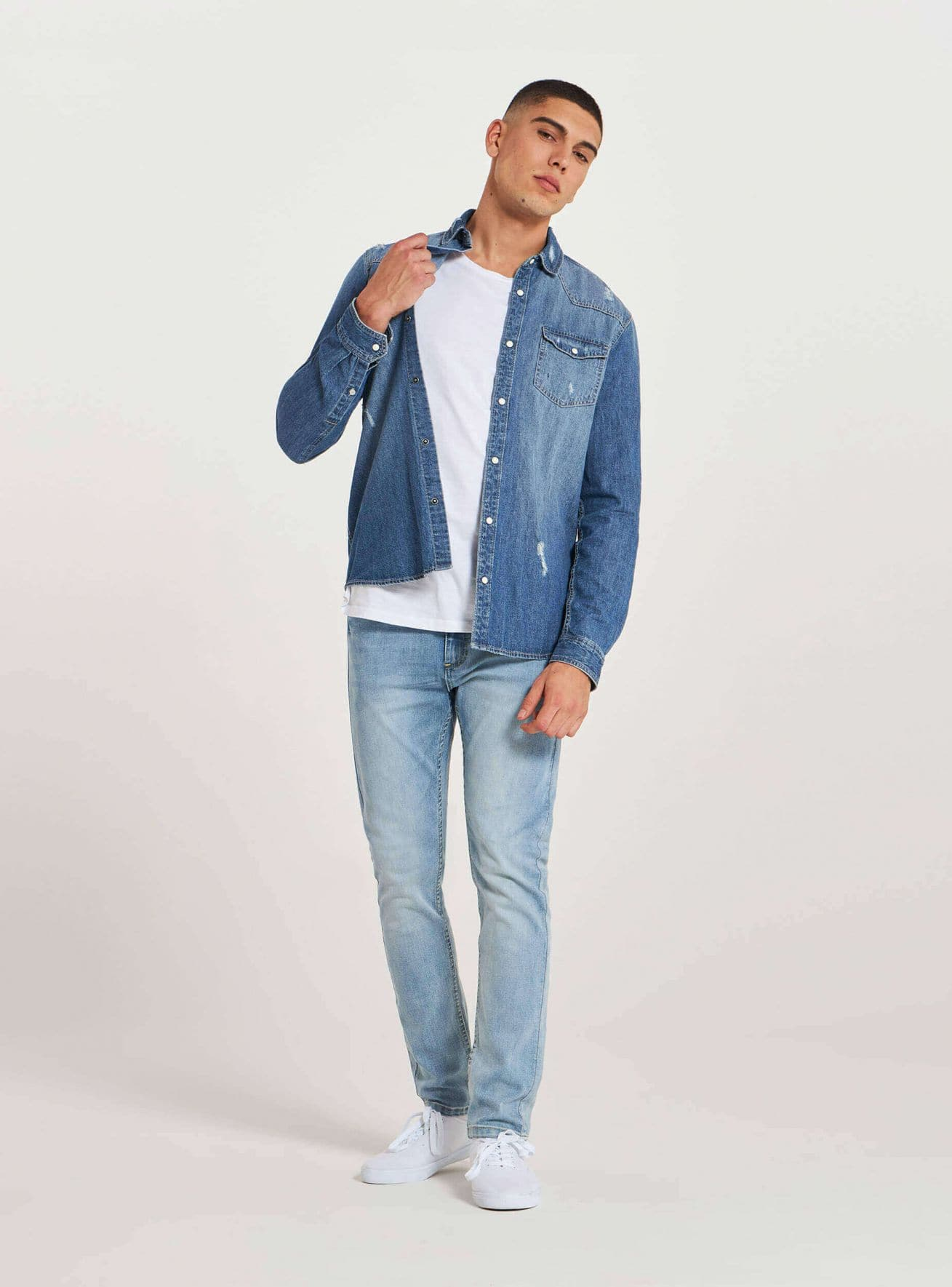 Pantalone Jeans Lungo Мъжко Terranova