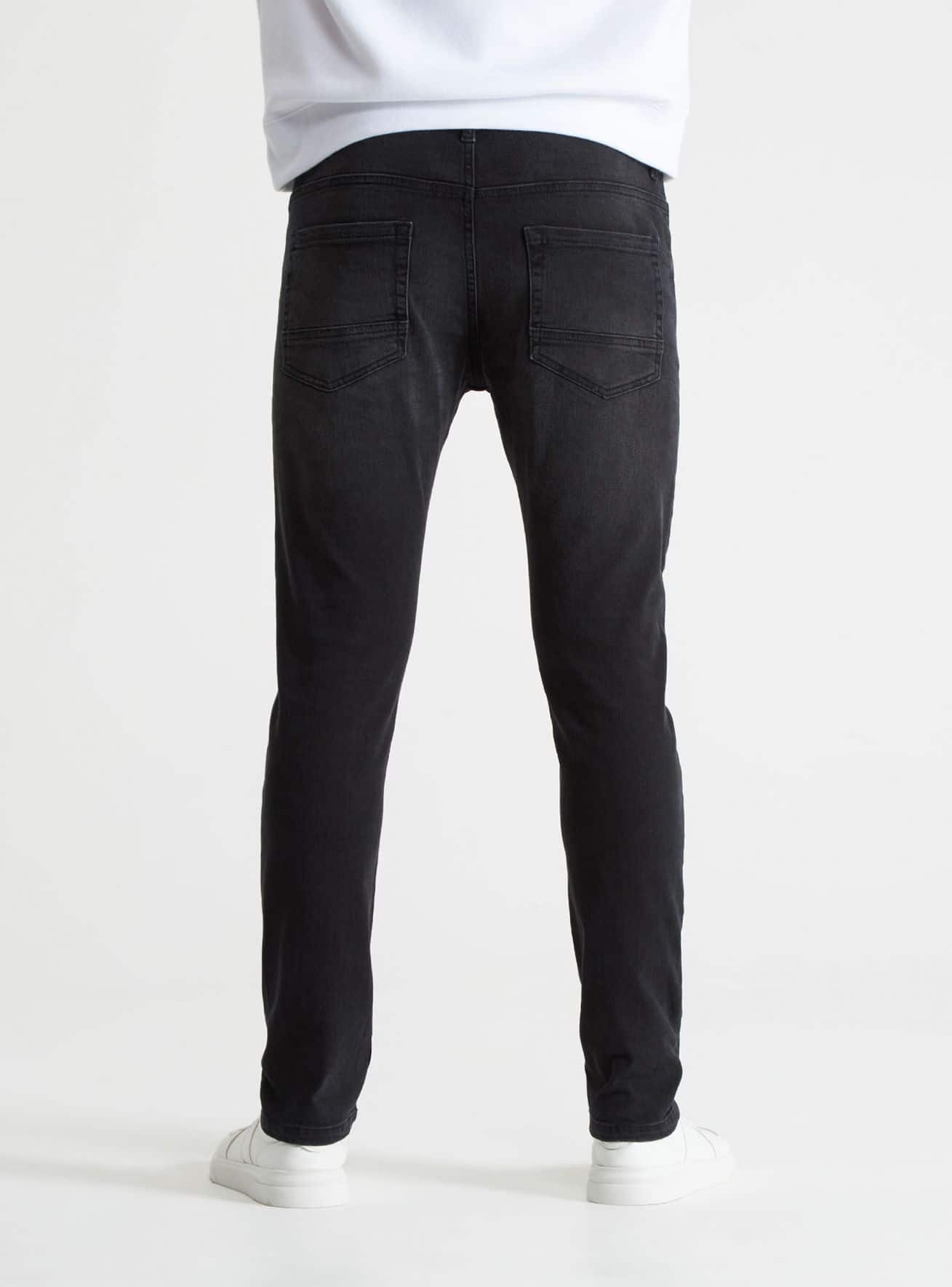 Pantalone Jeans Lungo Herren Terranova