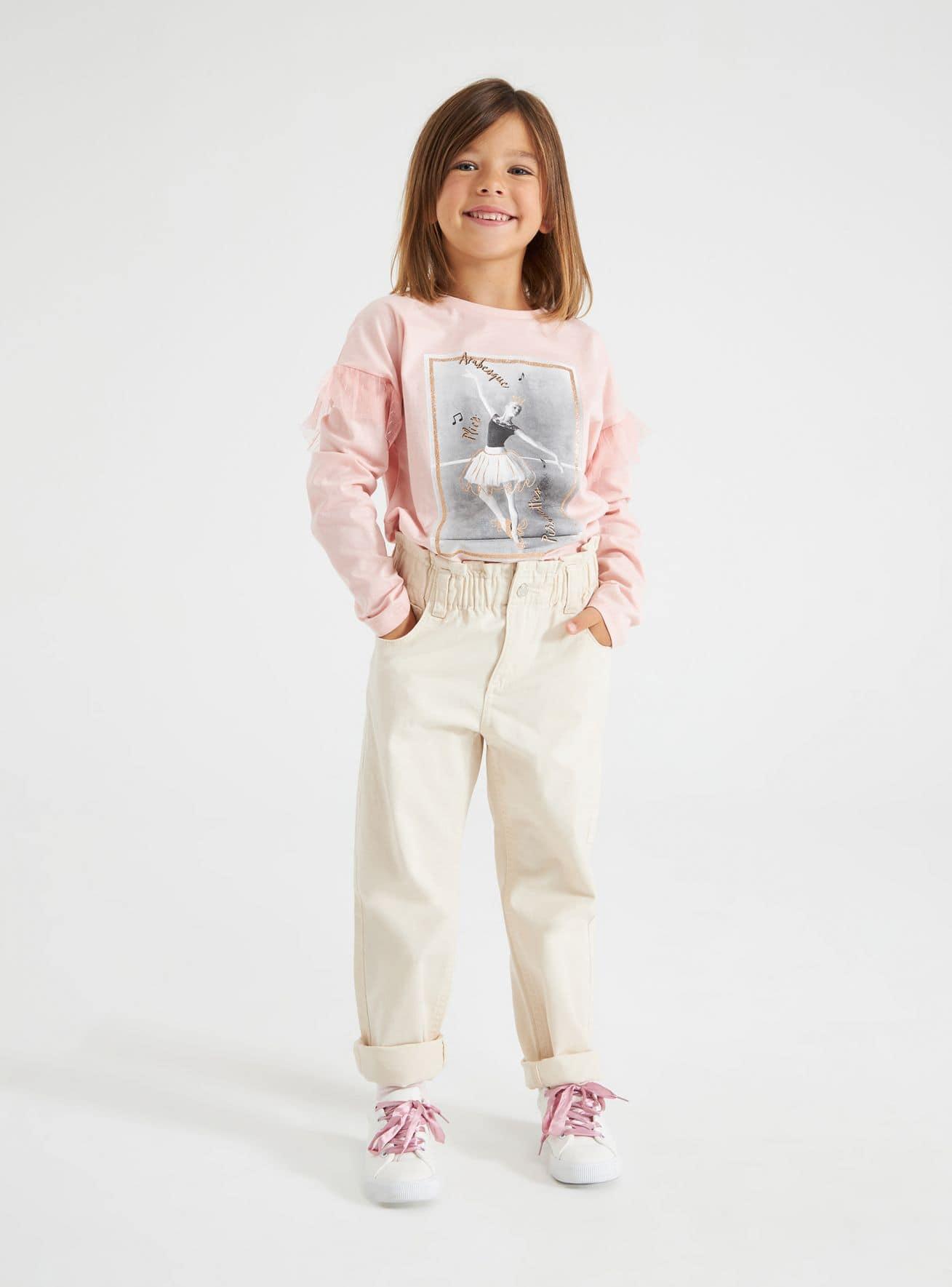 Pantalone Lungo Mädchen Terranova