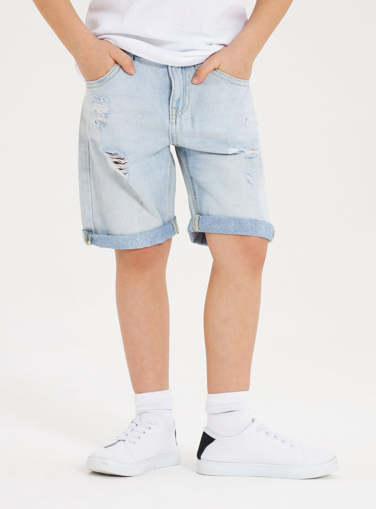 Pantalone Jeans Corto Bambino Kids