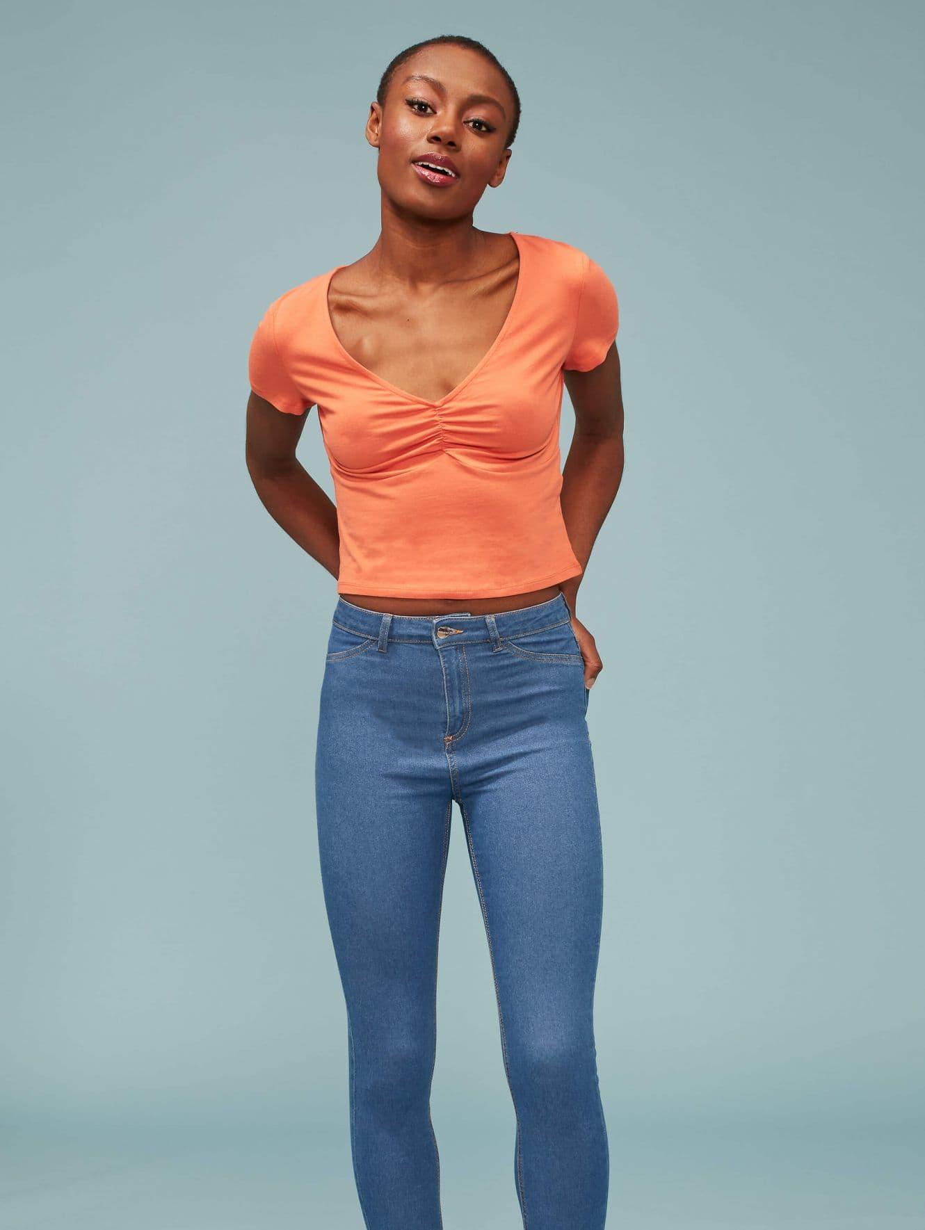 Pantalone Jeans Lungo Femme Terranova