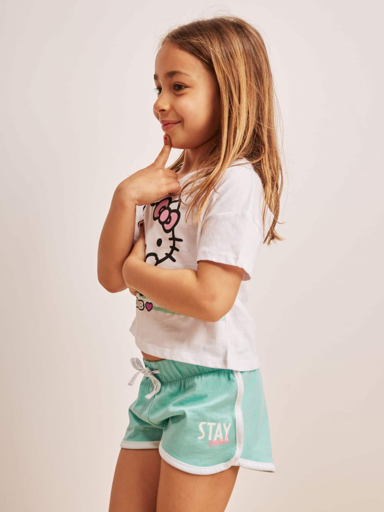 Gym shorts Girls Terranova