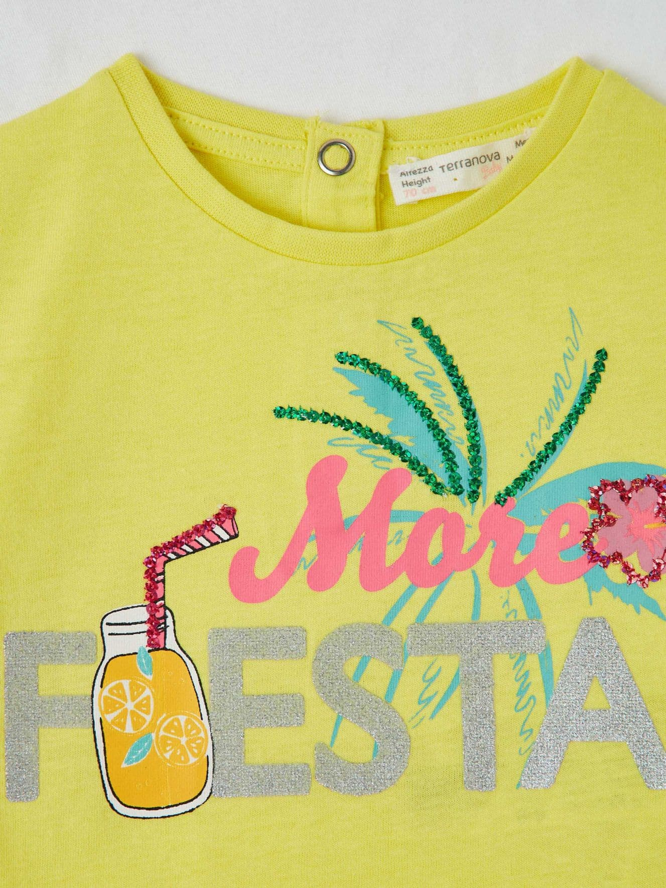 Short-sleeved T-shirt Infant girl Terranova