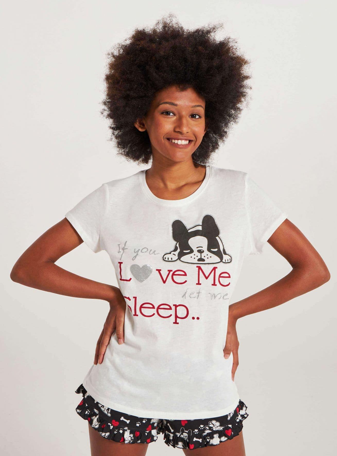 T-Shirt MC Дамско 020