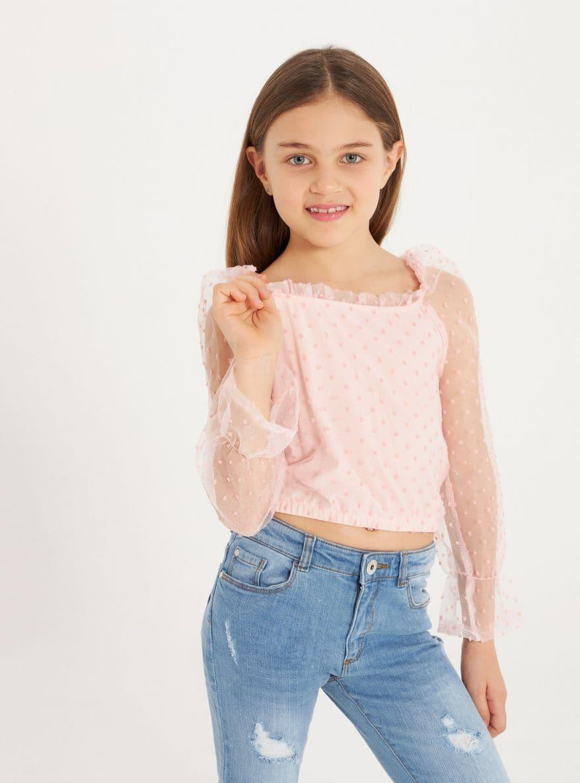 Camicia ML Mädchen Terranova