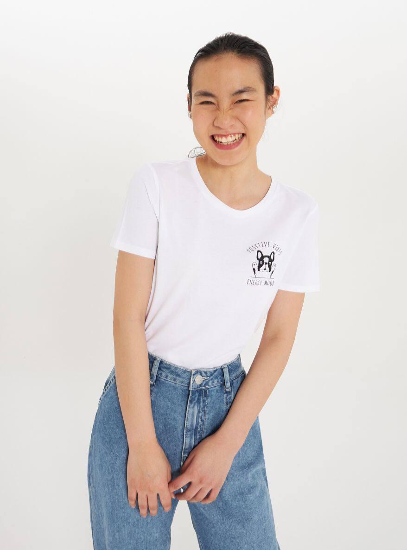 T-Shirt MC Damen Terranova
