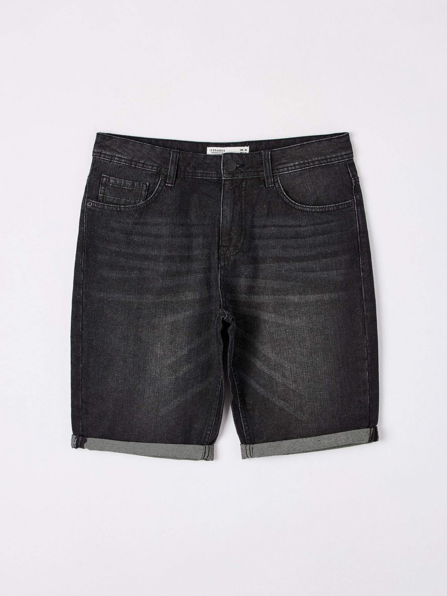 Short pants jeans Man Terranova