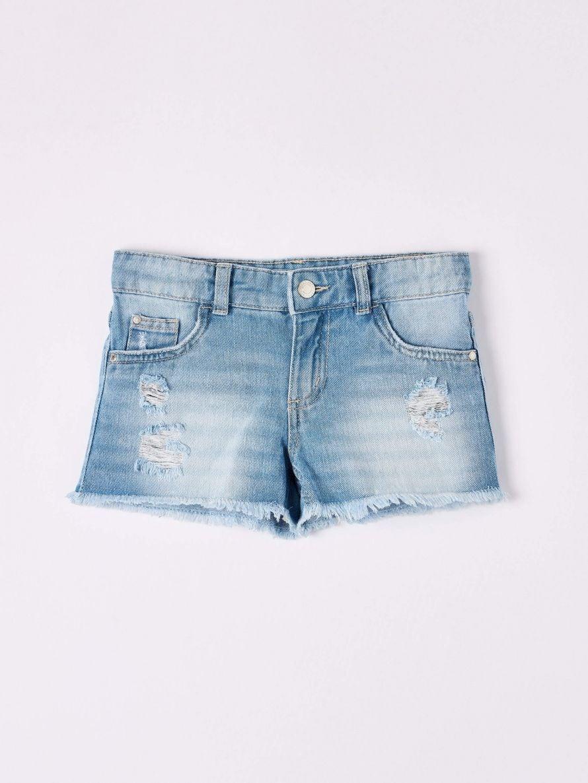Pantalone Jeans Corto Mädchen Terranova