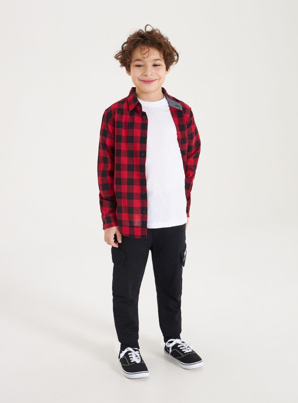 Pantalone ginnico Lungo Детски дрехи за момчета 010