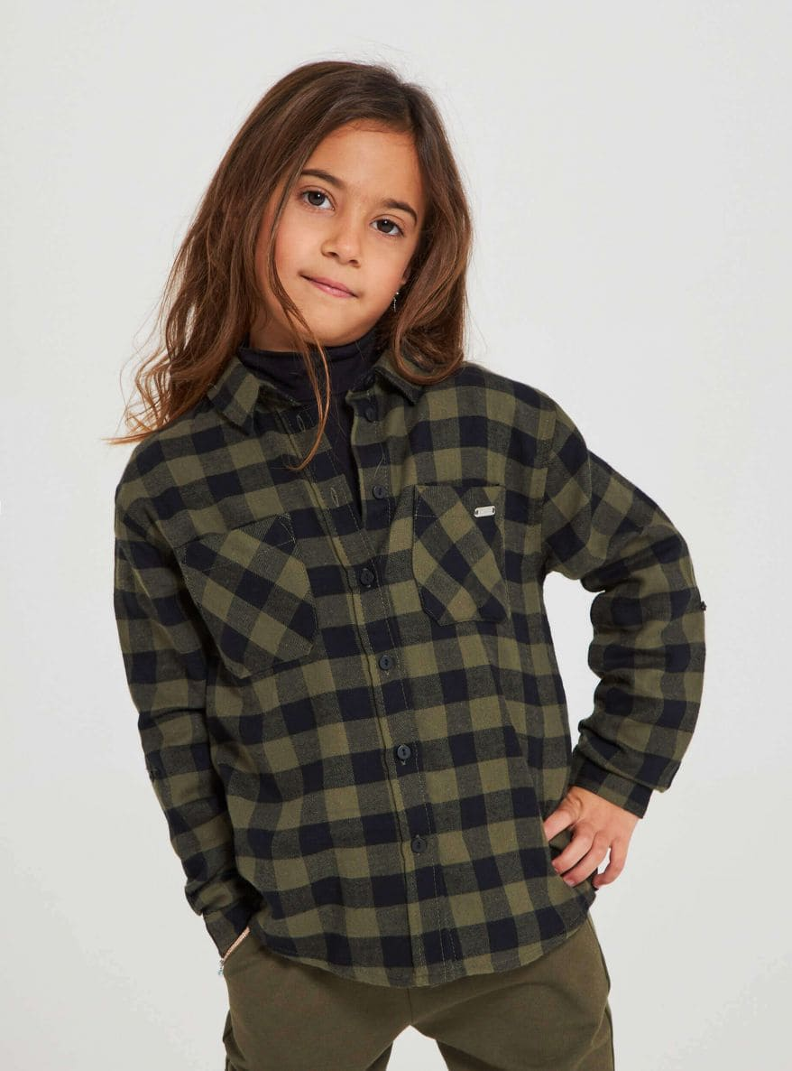Long-sleeved shirt Girls Terranova
