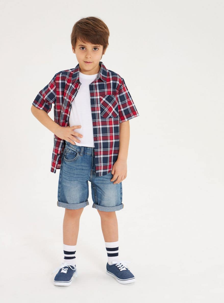 Short-sleeved shirt Boys Terranova