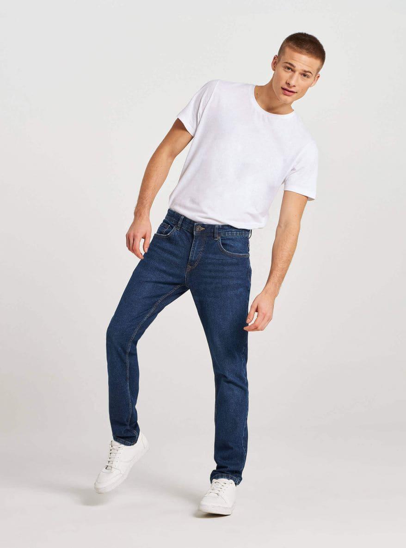 Dlhé džínsové nohavice Muz Terranova