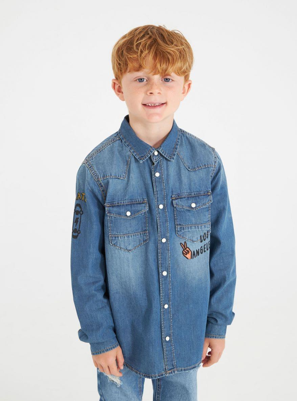 Long-sleeved shirt Boys Terranova