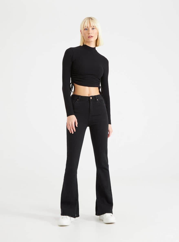 Long pants jeans Woman Terranova