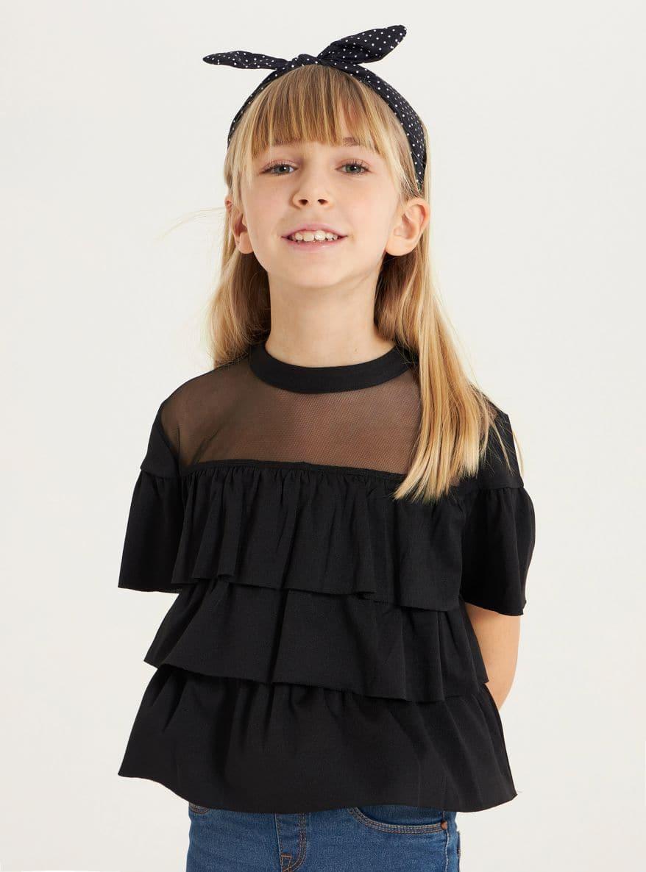 Short-sleeved shirt Girls Terranova