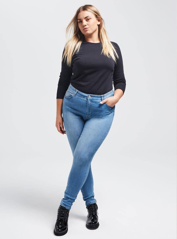 Pantalone Jeans Lungo Дамско Terranova