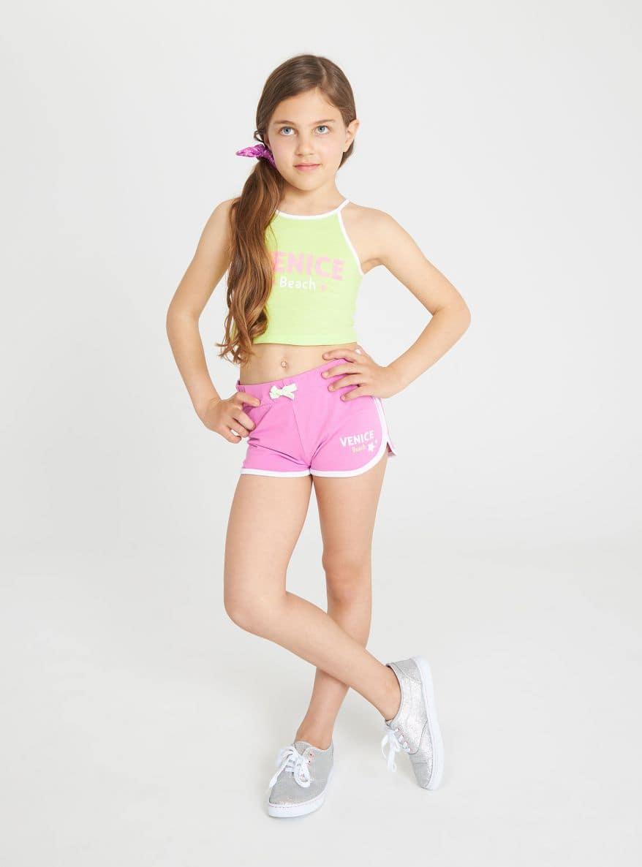 Pantalone ginnico Corto Bambina Terranova