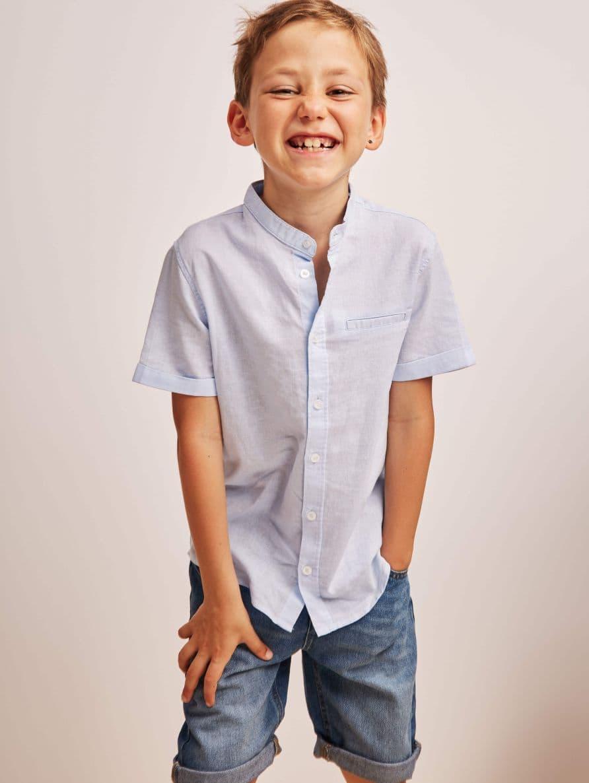 Short-sleeved shirt Boys Terranova