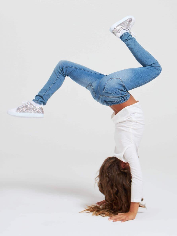 Pantalone Jeans Lungo Bambina Terranova