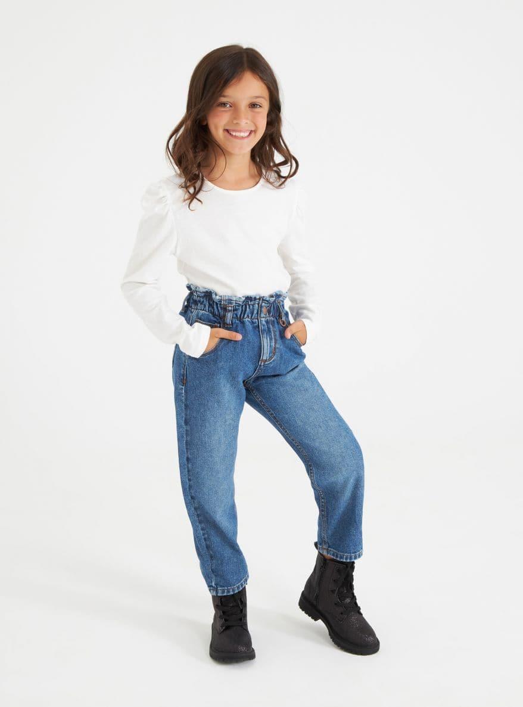 Pantalone Jeans Lungo Bambina Kids