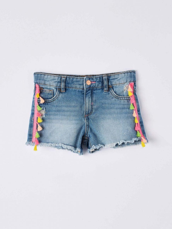 Short en Jeans Fille Terranova