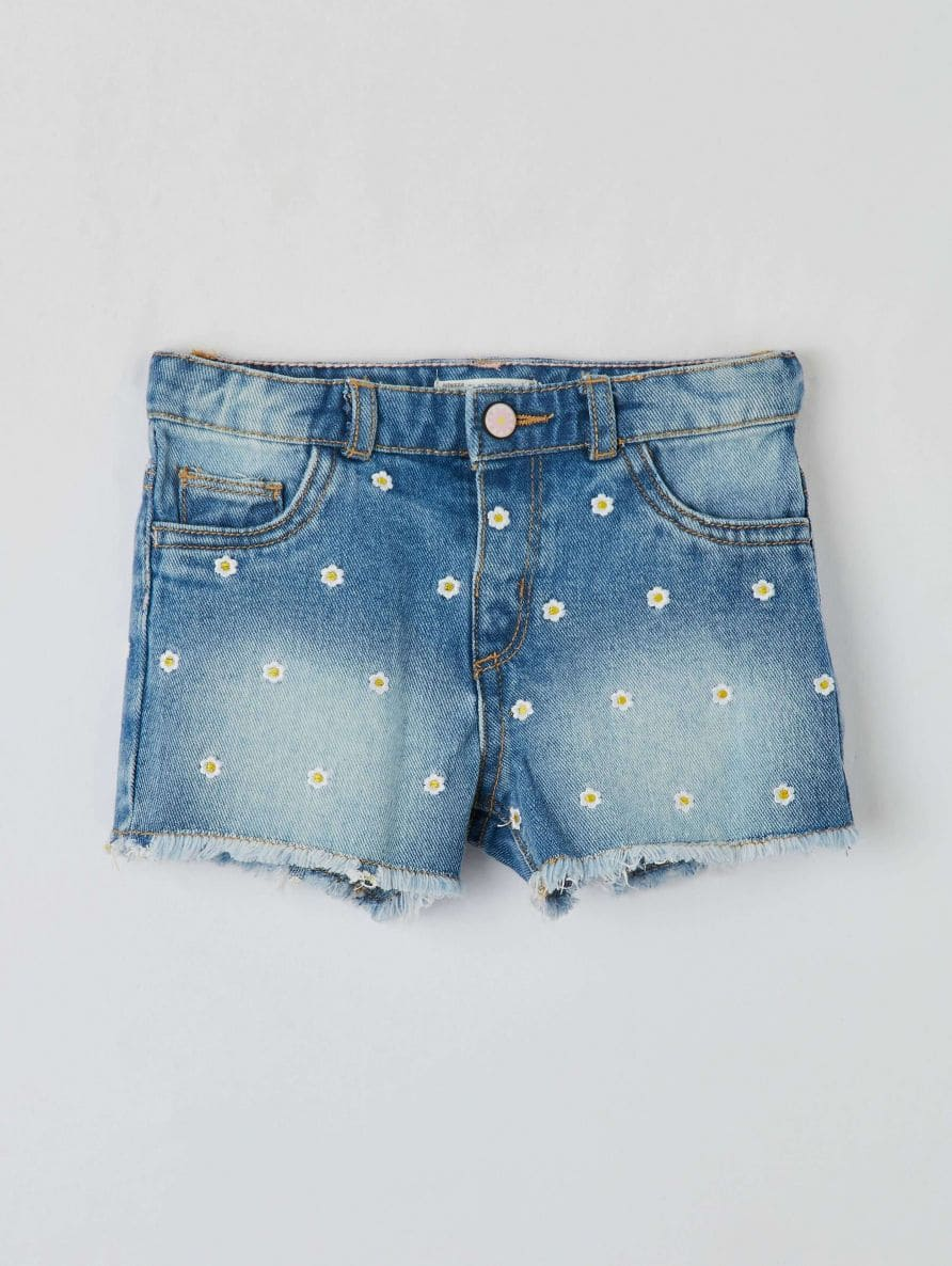 Short pants jeans Infant girl Terranova