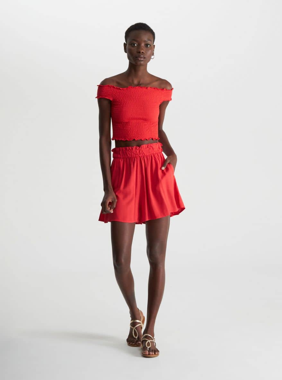 Pantalone Corto Mujer Terranova