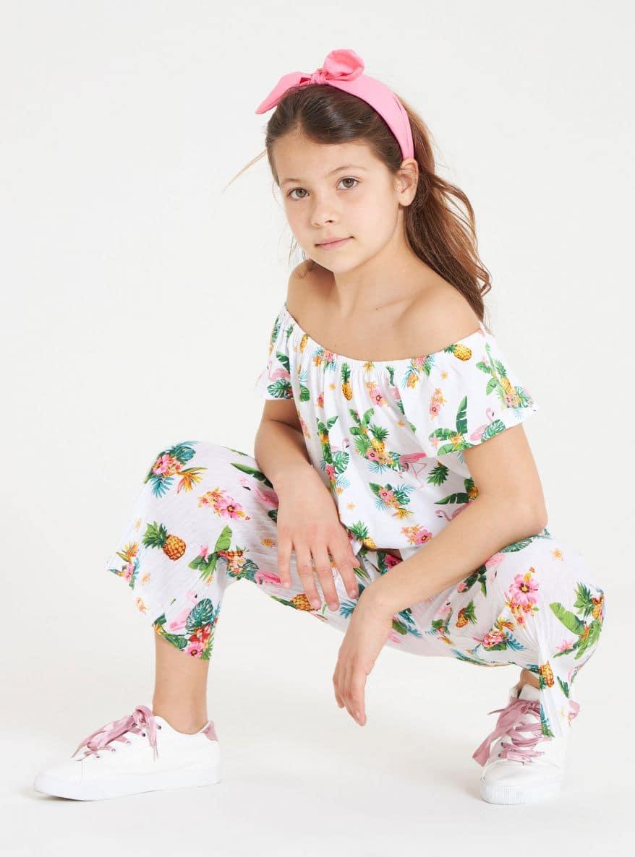 Pantalone Lungo Детски дрехи за момичета 010