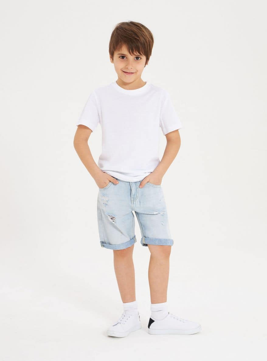 Short pants jeans Boys Terranova
