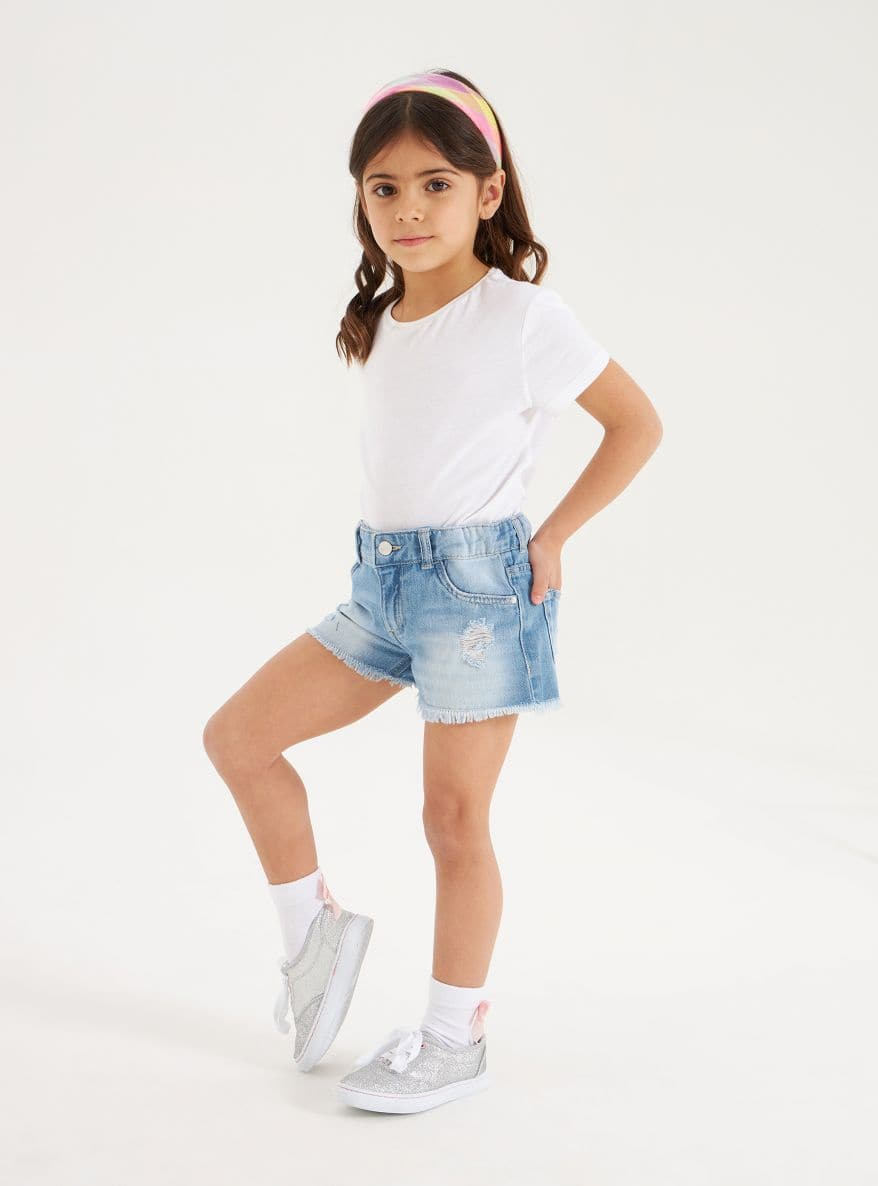 Short pants jeans Girls Terranova