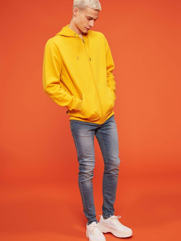 Pantalone Jeans Lungo Hombre Terranova