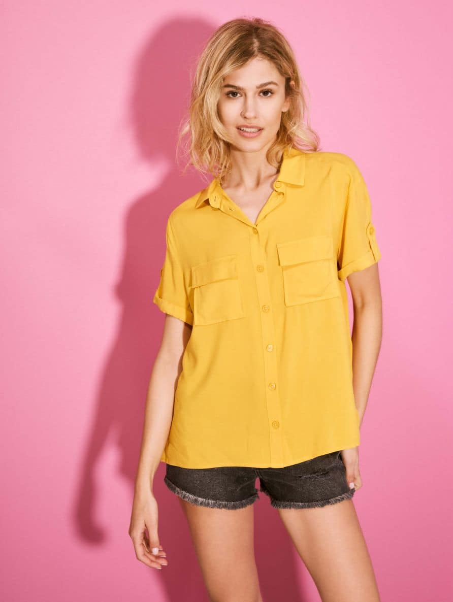 Short-sleeved shirt Woman Terranova