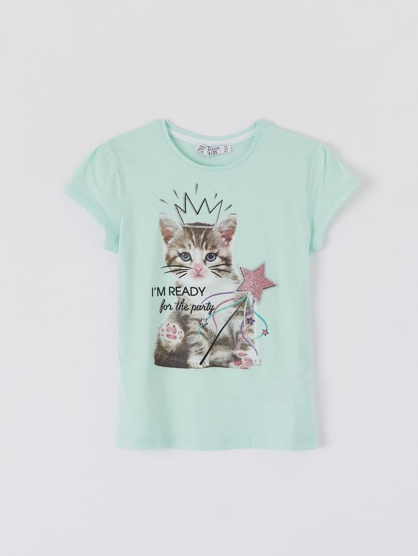 T-Shirt MC Bambina Terranova